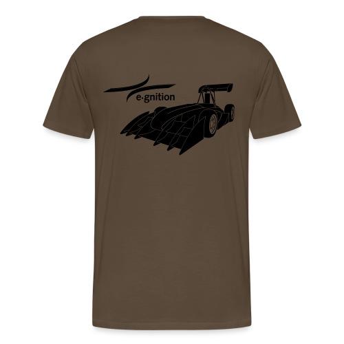 egn Autoschwarz - Männer Premium T-Shirt