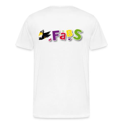 fabslogo trans - Männer Premium T-Shirt