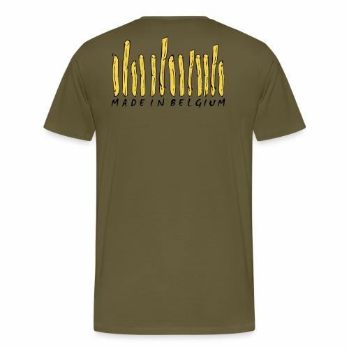Made In Belgium Frites - T-shirt Premium Homme