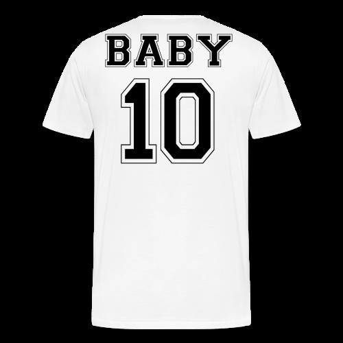 BABY 10 - Black Edition - Männer Premium T-Shirt
