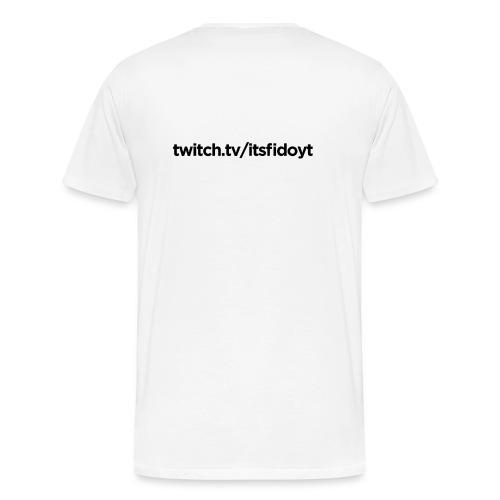 Fido - Twitch Link - Herre premium T-shirt