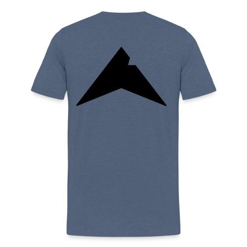 UP-CLAN Logo - Mannen Premium T-shirt