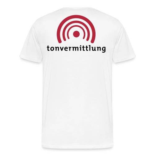tonvermittlung - Männer Premium T-Shirt