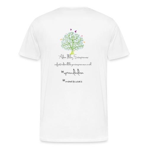 Adam Illsley Entrepreneur Main Logo - Men's Premium T-Shirt