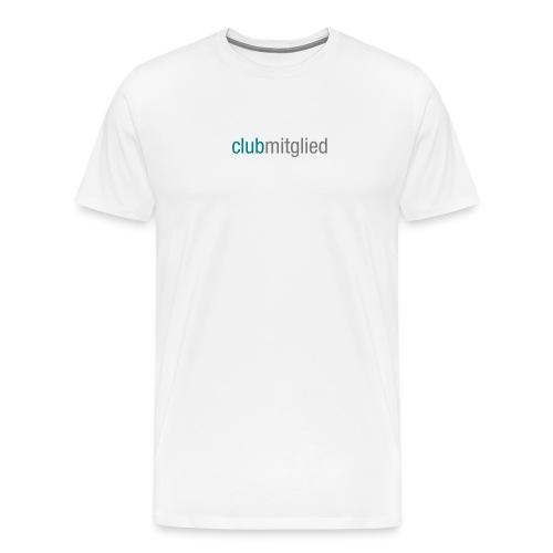 CC_clubmitglied_aufweiss - Männer Premium T-Shirt