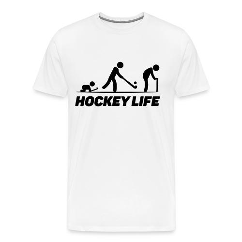 Hockey Life - T-shirt Premium Homme