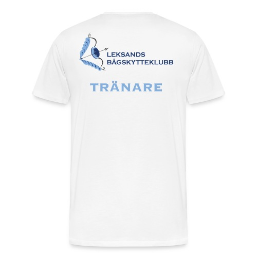 Tränartröja - Premium-T-shirt herr