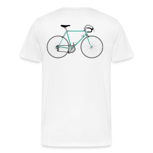 Rennrad für Hipster - Männer Premium T-Shirt