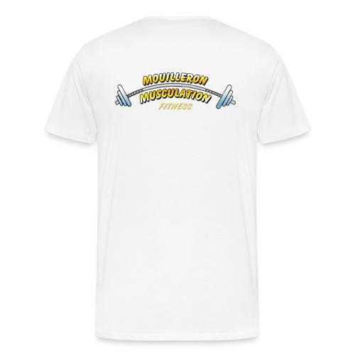 mouilleron muscu logo pour tee shirt 311 - T-shirt Premium Homme