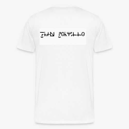 Fran Portillo (runas Alrlok) - Camiseta premium hombre