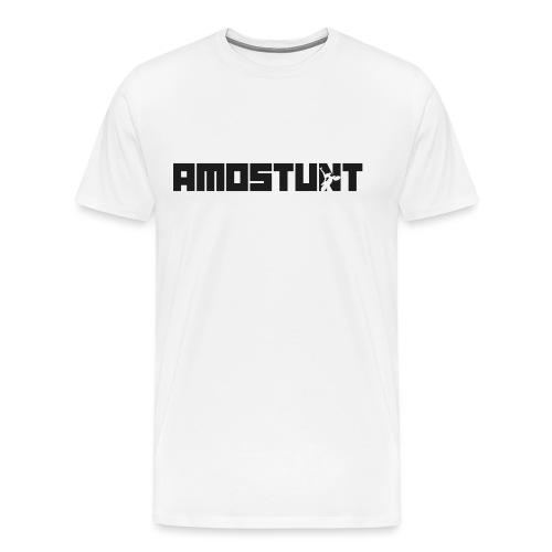 amostunt svart noname png - Premium-T-shirt herr