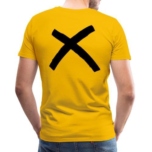 X - Camiseta premium hombre