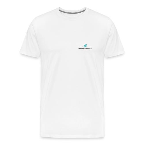 wef logo schwarze schrift - Männer Premium T-Shirt