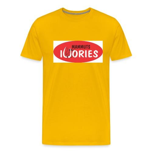 P Ivories Logo - Männer Premium T-Shirt