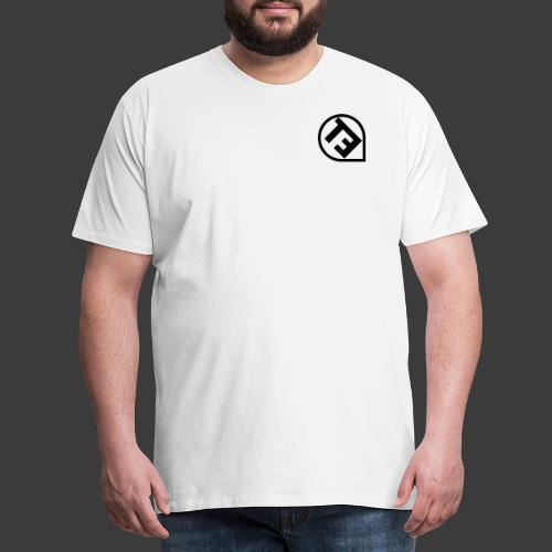 Gedrehtes LogoTETeam - Männer Premium T-Shirt