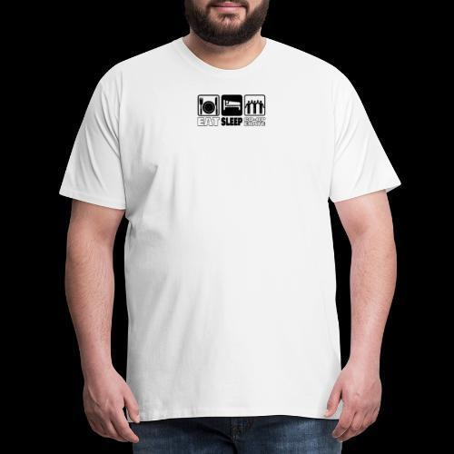 Eat Sleep Co op png - Men's Premium T-Shirt