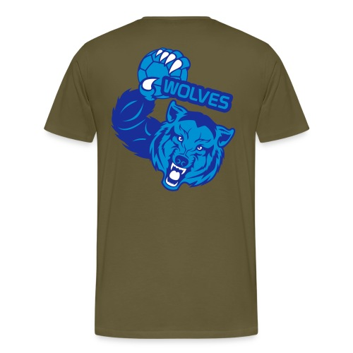 Wolves Handball - T-shirt Premium Homme