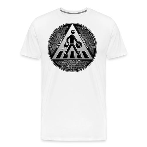 Shirt Front Grau png - Männer Premium T-Shirt