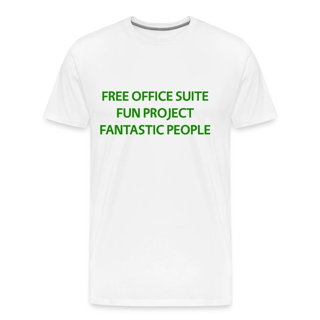 T Shirts Green Text Front png