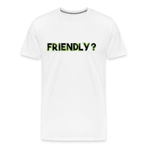 freidnly png - Men's Premium T-Shirt