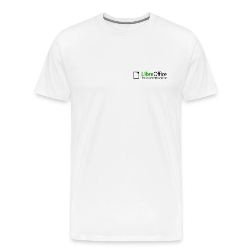 T Shirts Green Text Back png - Men's Premium T-Shirt