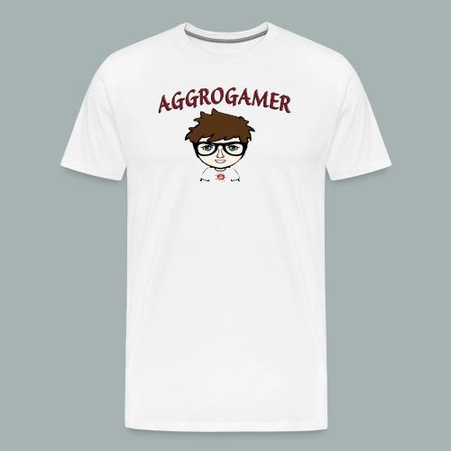 Aggro png - Männer Premium T-Shirt