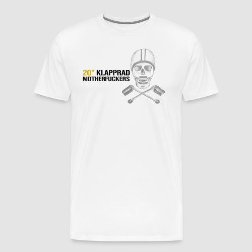 20 Klapprad Motherfucker - Männer Premium T-Shirt