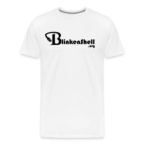 blinkenshell_shirt2_black - Men's Premium T-Shirt