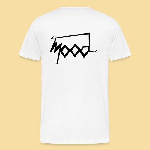 stussy mood noire noire noire png - T-shirt Premium Homme