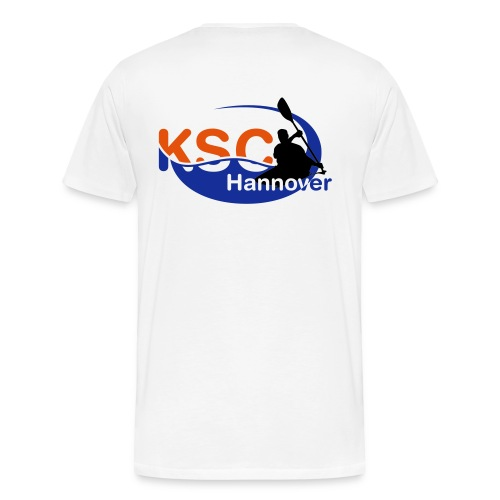 KSC Logo 3-farbig - Männer Premium T-Shirt