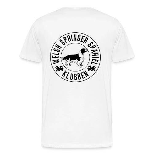 Originallogga - Premium-T-shirt herr