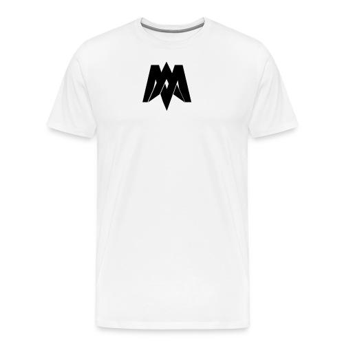 Mantra Fitness Slim Fit T-Shirt (White) - Men's Premium T-Shirt