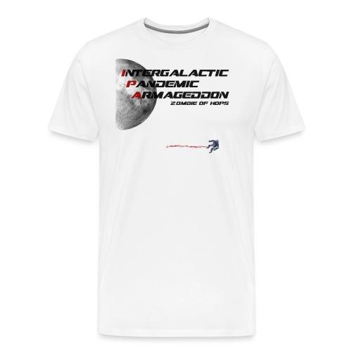 IPA Zombie of Hops - Men's Premium T-Shirt