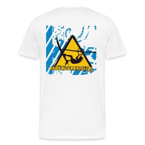 as 300x300 120dpi - Männer Premium T-Shirt