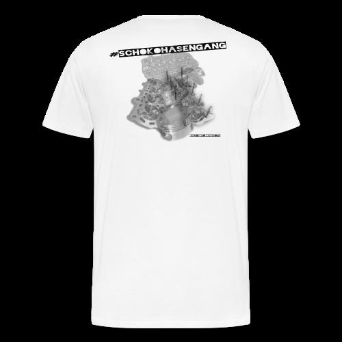 #Schokohasengang - Männer Premium T-Shirt