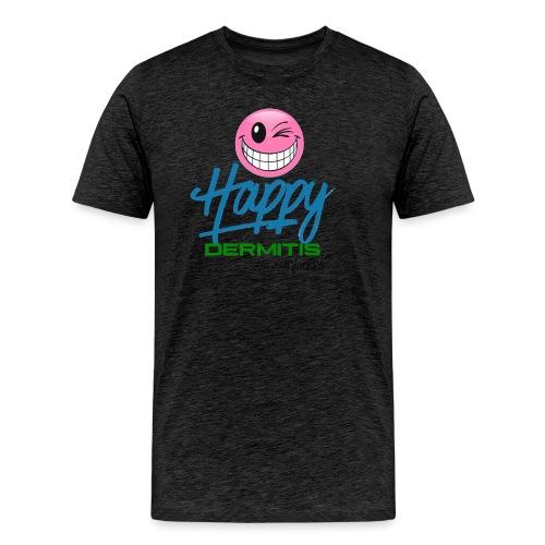 HAPPYdermitis V1.0 - Männer Premium T-Shirt