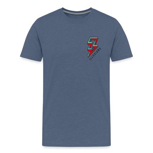 ♂ Lightning - Männer Premium T-Shirt