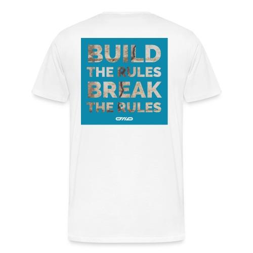 Rules Shirt blau - Männer Premium T-Shirt