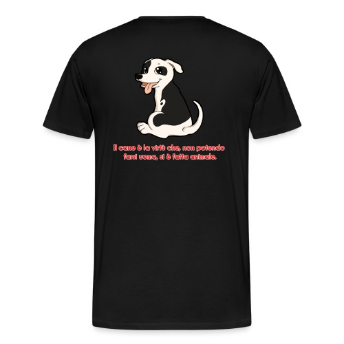 Aforisma cinofilo - Maglietta Premium da uomo