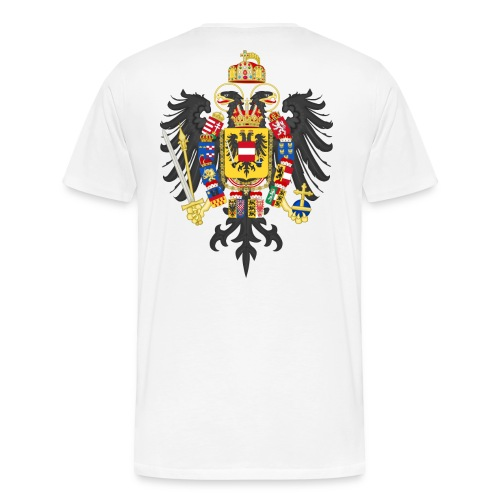 Middle Coat of Arms of Francis II Holy Roman - Männer Premium T-Shirt