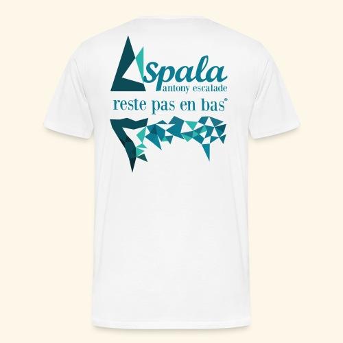 ASPALA - Reste pas en bas - T-shirt Premium Homme