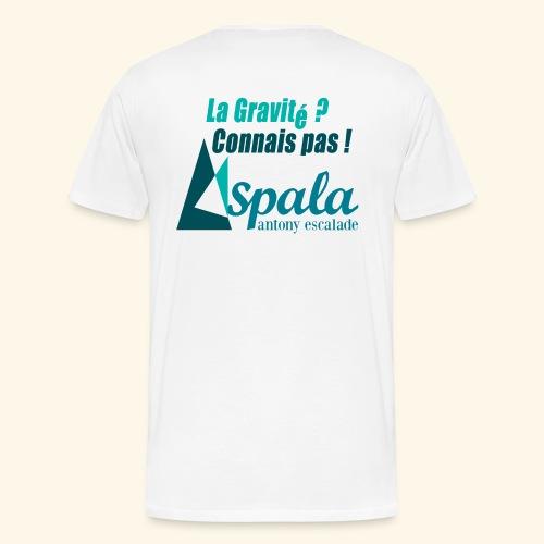 ASPALA - Gravité - T-shirt Premium Homme