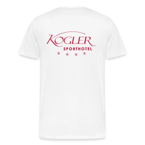 Hotel Logo 2014 black - Männer Premium T-Shirt