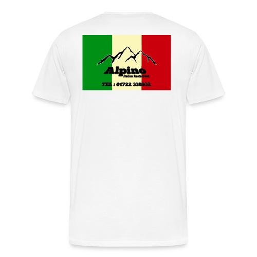 alphinos png - Men's Premium T-Shirt