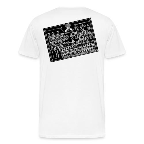 Korg weiß - Männer Premium T-Shirt