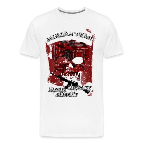 PHILLAHWEAR THE SKULL - Männer Premium T-Shirt