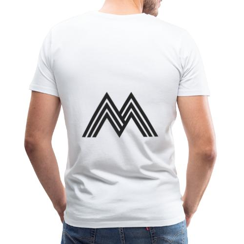 Merchandise With Deejay Michiel logo - Mannen Premium T-shirt