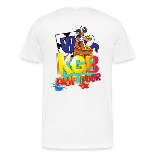 kgb auf tour 2015 test png - Männer Premium T-Shirt