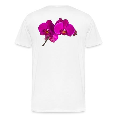 Phalaenopsis - Männer Premium T-Shirt