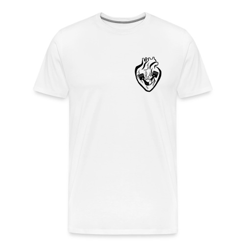 My Heart Is My Engine - Men's Premium T-Shirt